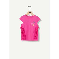 T-shirt fuchsia flamand rose