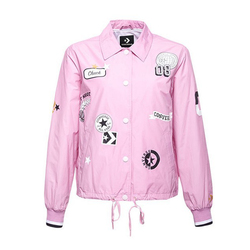 ALL OVER PATCHES COACHES JKT LT ORCHID
