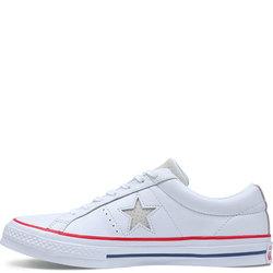 ONE STAR OX WHITE/GYM RED/WHITE
