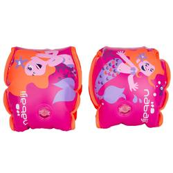 Soft Armbands With Two Inflatable Sections