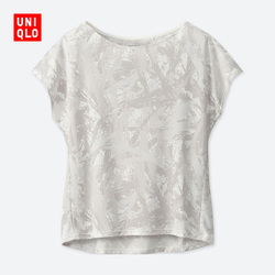 Women's DRY-EX round neck print T-shirt (short sleeve)