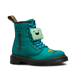 (INFANT) ADVENTURE TIME BROOKLEE LACE LOW BOOT TURQUOISE T CANVAS