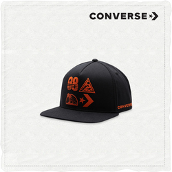 MENS GRAPHIC SNAPBACK BLACK