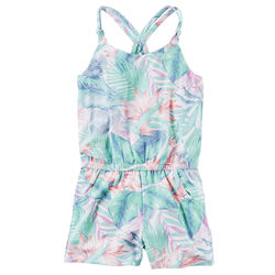 Tropical Pull-On Romper