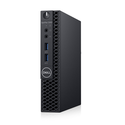 Dell OptiPlex 3060 MFF, i5-8500T, 4GB memory, 500GB SATA, WiFi, BT, K M, No OS